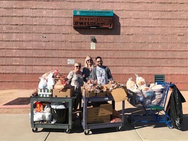 Ocotillo Elementary School Thanksgiving Outreach - 2018